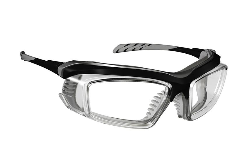 Armourx 6008FS - Black - Build in Side Shield