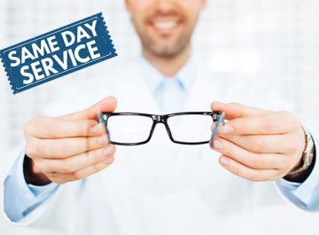 Eyeglasses in 1 Hour at Houston - Super Fast Service